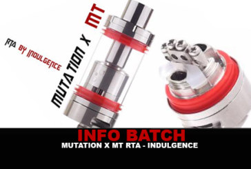 INFO BATCH : Mutation X MX RTA (Indulgence)