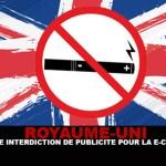 הממלכה המאוחדת: לקראת איסור פרסום עבור סיגריות אלקטרוניות