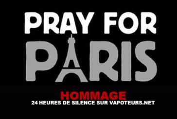 TRIBUTE: 24 hours of silence on Vapoteurs.net
