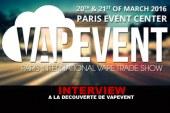 INTERVIEW : A la découverte de VapEvent !