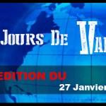 7 JOURS DE VAPE : Edition du 27 Janvier 2016