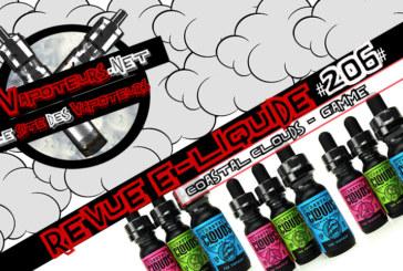 Revue E-Liquide #206 – COASTAL CLOUDS – GAMME (USA)