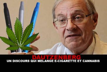 DAUTZENBERG: un discorso che mescola e-sigaretta e cannabis.