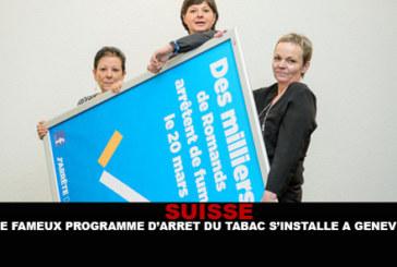 "SWITZERLAND: The ""famous"" smoking cessation program is set up in Geneva."