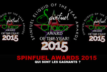 SPINFUEL AWARDS 2015 : Qui sont les gagnants ?