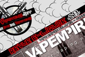 Revue E-Liquide #213 – VAPE EMPIRE MALAYSIA – GAMME (MLY)