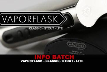 מידע נוסף: Vaporflask (קלאסי / סטאוט / לייט)
