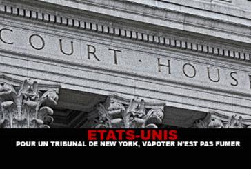 USA : Pour un tribunal de New-York, Vapoter n'est pas fumer !