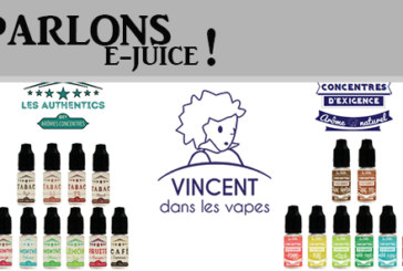 "TALK E-JUICE: The offer ""Do It Yourself"" by VDLV."