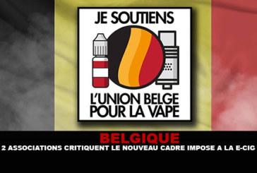 BELGIO: Le associazioni 2 criticano il nuovo quadro imposto alla sigaretta elettronica.