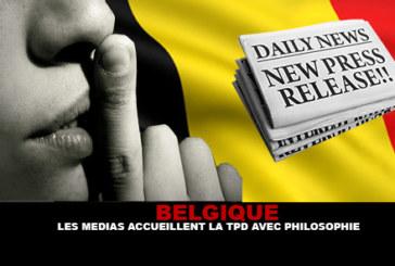 בלגיה: התקשורת מברכת על TPD עם הפילוסופיה.