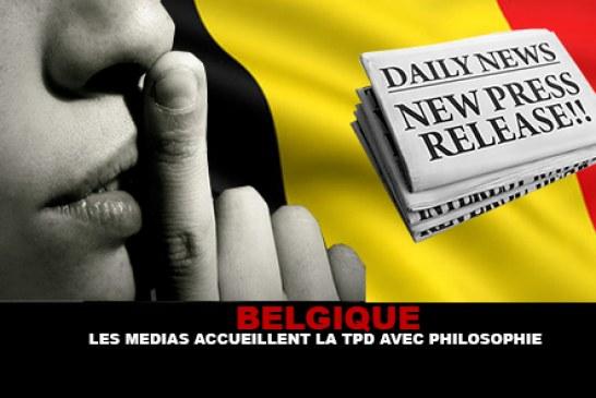 BELGIQUE : Les médias accueillent la TPD avec philosophie.