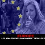 אירופה: בני נוער צורכים פחות טבק.