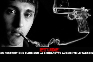 STUDY: Age restrictions on e-cigarettes increase smoking.