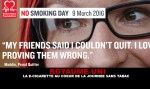 UNITED KINGDOM: The e-cigarette at the heart of the day without tobacco.