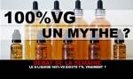 ДЕБАТ: Действительно ли э-жидкость 100% VG существует?