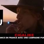 "CIGALIKE: ""Blu"" הושק בצרפת עם מסע פרסום."