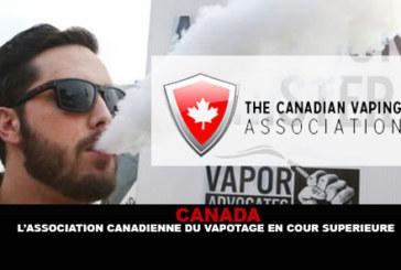 קנדה: אגודת Vape של קנדה בבית המשפט העליון.