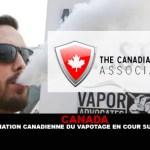 CANADA : L'Association canadienne du vapotage en Cour supérieure.