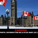 CANADA: Ottawa stelt het verbod op e-cigs op openbare plaatsen uit