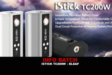 מידע נוסף: Istick TC 200w (Eleaf)