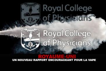 ROYAUME-UNI : Un nouveau rapport encourageant pour la vape.