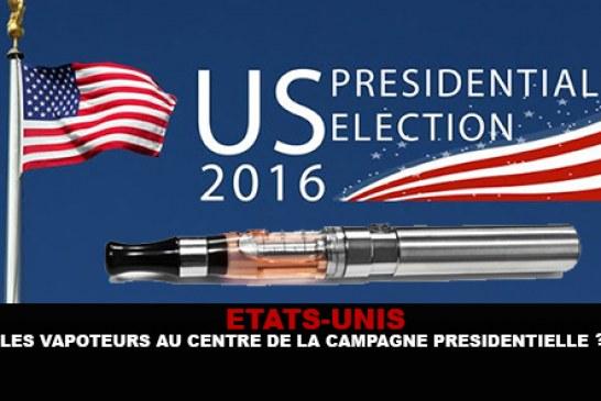 USA : Le vote des vapoteurs au centre de la campagne présidentielle ?