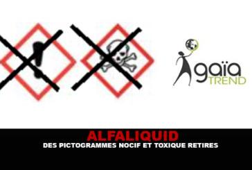 """ALFALIQUID: Pictograms """"מזיקים רעילים"""" הוסר."""