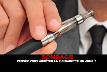 UMFRAGE: Stoppen Sie eines Tages E-Zigarette?