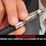 ENQUVETE: Stop je op een dag de e-sigaret?
