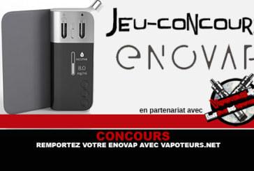 תחרות: לנצח את enovap שלך עם Vapoteurs.net