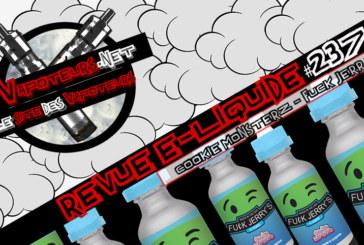 E-Liquid Αναθεώρηση #237 - COOKIE MONSTERZ - FUCK JERRY'S (ΗΠΑ)