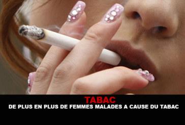 טבקו: יותר ויותר נשים חולה בגלל טבק!