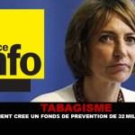 TABACCO: il governo crea un fondo di prevenzione 32 milioni di euro.