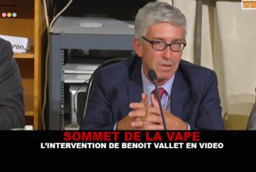 SUMMIT OF THE VAPE: The intervention of Benoit Vallet in video.