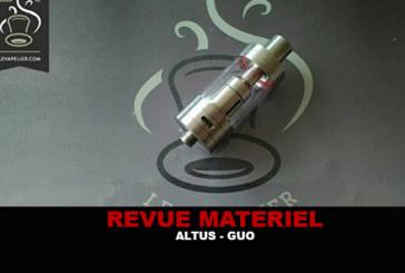 RECENSIONE: ALTUS BY GUO