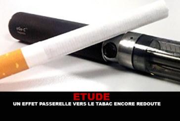 ETUDE : Un effet passerelle vers le tabac encore redouté..