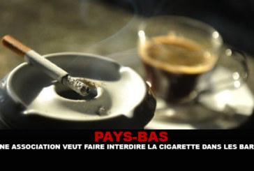 PAYS-BAS : Une association veut faire interdire la cigarette dans les bars.