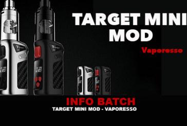 BATCH INFO: מיקוד מיני Mod (Vaporesso)