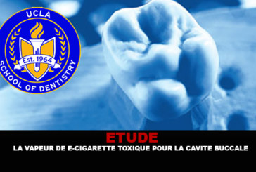 ÉTUDE : La vapeur de e-cigarette toxique pour la cavité buccale.