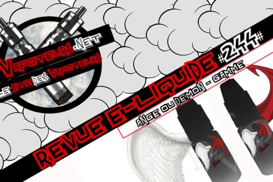 E-Liquid Review #244 - ANGEL ИЛИ DEMON - RANGE (FR)