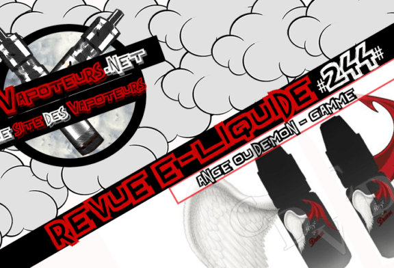 Recensione E-Liquid #244 - ANGEL OR DEMON - RANGE (FR)