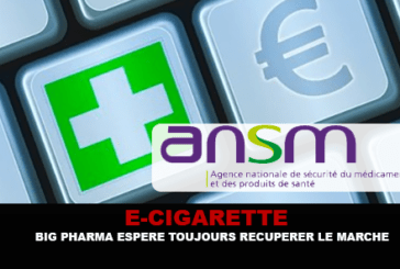 E-CIGARETTE : Big Pharma espère toujours récupérer le marché.