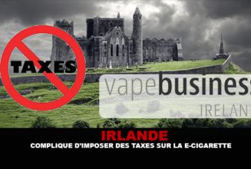 ΙΡΛΑΝΔΙΑ: Επιπλήσσει να επιβάλλει φόρους στο ηλεκτρονικό τσιγάρο.