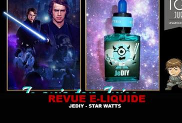 REVUE : JEDIY (GAMME STAR WATTS) PAR EVAPS