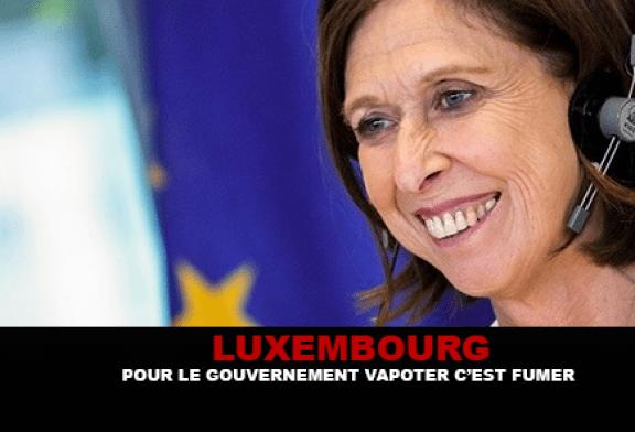 LUXEMBOURG : Pour le gouvernement » Vapoter c'est fumer ! «