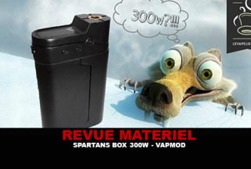 REVIEW: SPARTANS BOX 300W TC DOOR VAPMOD