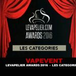 VAPEVENT: LEVAPELIER.COM AWARDS 2016 - Категории