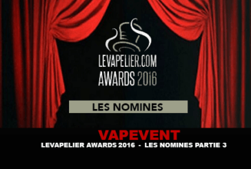 LEVAPELIER.COM AWARDS - THE NOMINATED PART 3