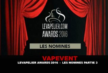LEVAPELIER.COM AWARDS – LES NOMINÉS PARTIE 3